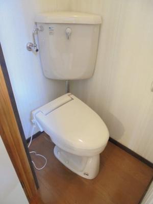 【トイレ】第5ガーデンハイツ