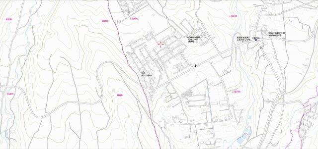 地図:中域