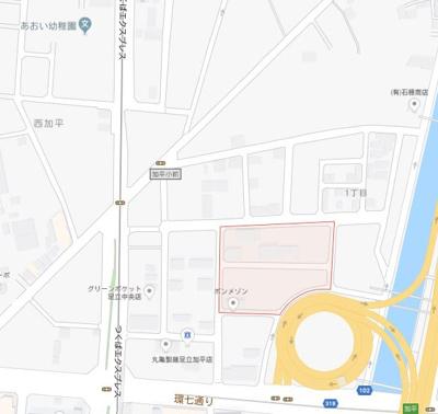 【地図】プレミアハイツ六町