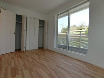 可動式の棚の使い方次第で様々な使い方ができる空間