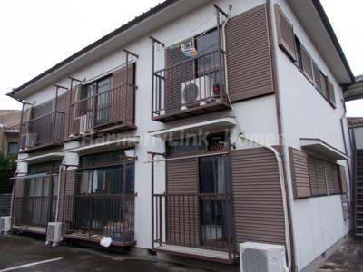 ハウス篠崎8号棟の外観☆