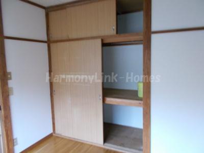 ハウス篠崎8号棟のたっぷりとした収納スペースです(押入)☆