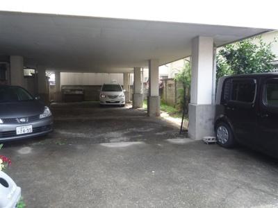 【外観】正栄ハイツ駐車場