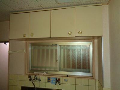 キッチン 吊棚
