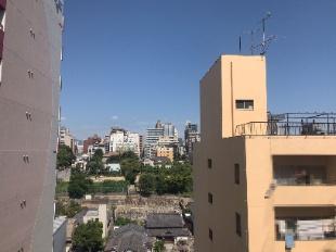 バルコニーからの眺望です!!