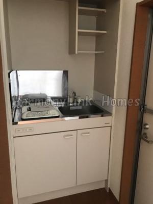 シエスタラベンダーのコンパクトなキッチンで掃除もラクラク(別部屋参考写真)