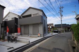 2号棟 現地(2019年5月)撮影 土地面積135.20㎡(40.89坪)駐車2台可能。