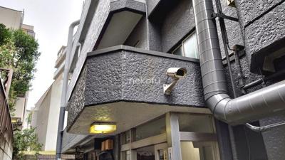 恵比寿大倉ビル:エントランス部分です
