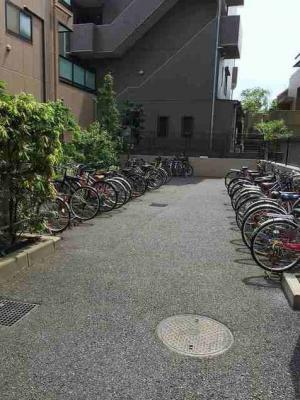 サンフラワー第6の駐輪スペース