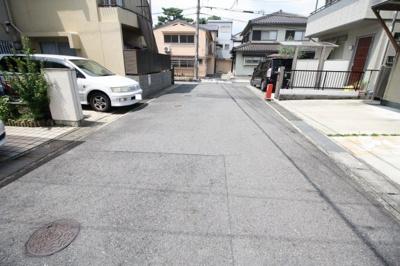 【前面道路含む現地写真】石場