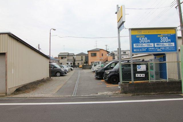 【外観】上ノ島町2丁目33駐車場