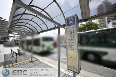 地下鉄長田駅前バス停