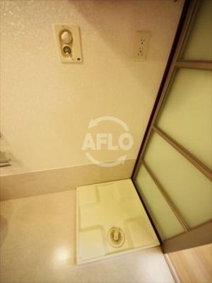 ル・パピヨンDX 室内洗濯機置き場