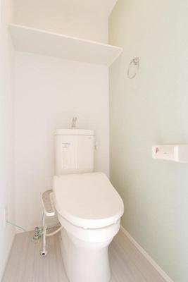 ハーモニーテラス武蔵中原のトイレもきれいです☆