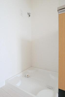 プランタンの室内洗濯機置場☆