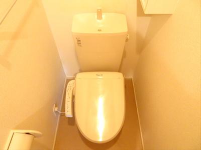 【トイレ】クレール桜上水