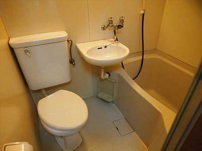 【浴室】下山手ハイツ