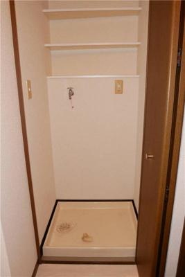 ライオンズテラス武蔵小金井の室内洗濯機置き場