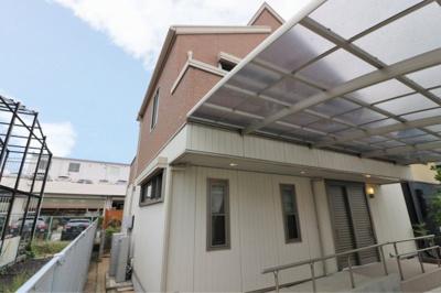 【外観】堺市西区鶴田町 リフォーム済み戸建住宅