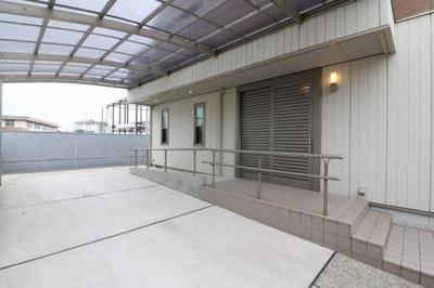 【駐車場】堺市西区鶴田町 リフォーム済み戸建住宅