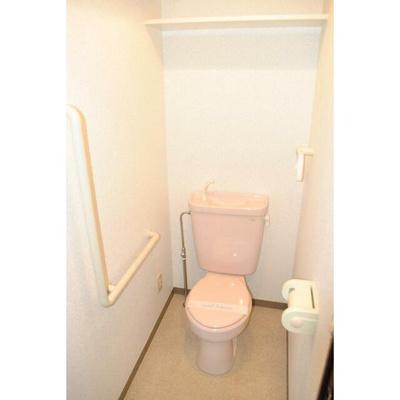 シャトーカネジン新検見川のトイレ