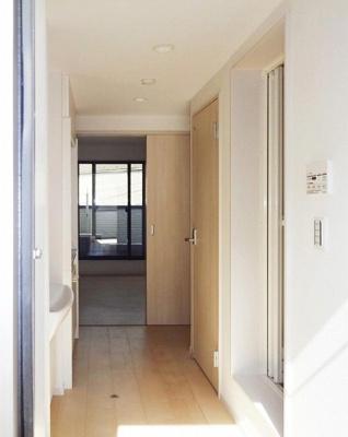 (仮)新百合ヶ丘デザイナーズアパートの玄関