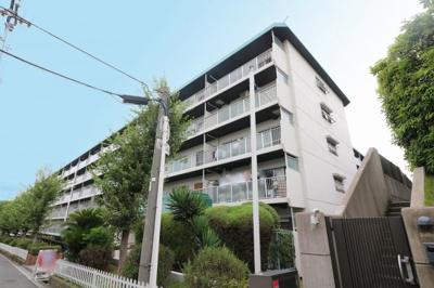 【外観】帝塚山グリーンハイツB棟5号館
