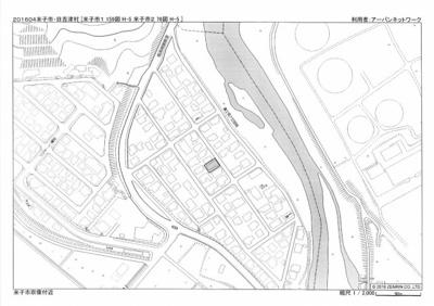 【地図】米子市宗像 売土地