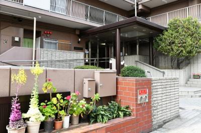 【エントランス】上本町ガーデンハイツ