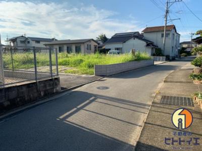 【外観】八女市室岡5区画分譲地