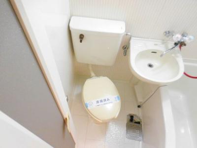 【トイレ】レリーサ真上