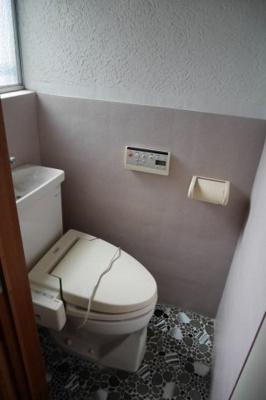 【トイレ】津山市南新座 中古住宅3DK