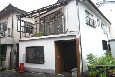 【外観】津山市南新座 中古住宅3DK
