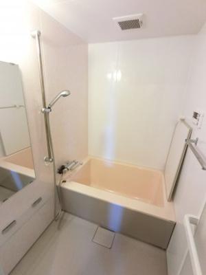 浴室スペースです。 1日の疲れを癒してください。