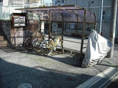 【アクロスタウンⅠ】は屋根付き駐輪場有り!