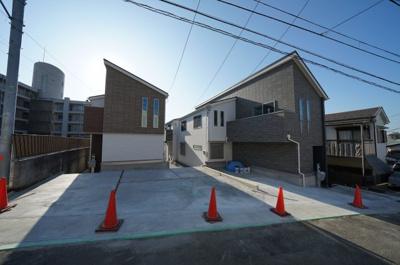 【外観】保土ヶ谷区仏向町 全3棟新築戸建【成約】
