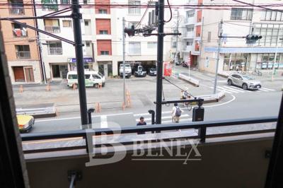 ガラ・ステージ市ヶ谷弐番館の展望です