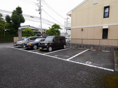 【駐車場】ロイヤルシャトー河原