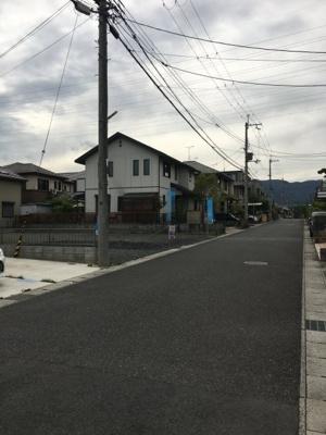 北側6m道路(東側から)