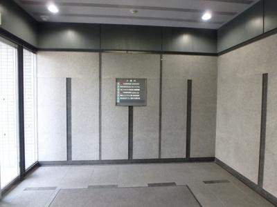 倉敷川西町RGB(倉敷市川西町 賃貸事務所)ビル入口に案内板があるので来客が迷子になりません☆