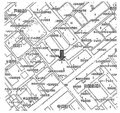【地図】西代通駐車場
