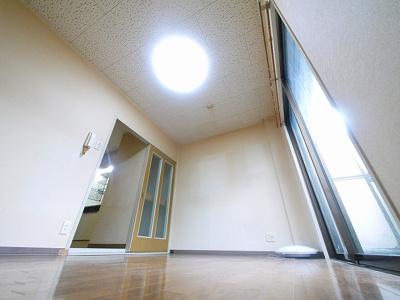 ゆとりあるお部屋です。