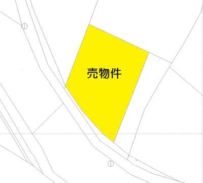 【外観】前橋市上細井町土地