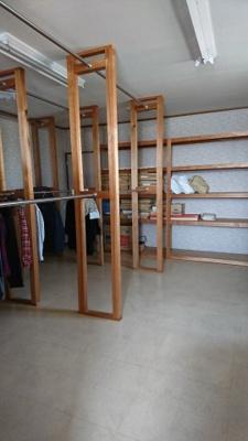 2階店舗用倉庫