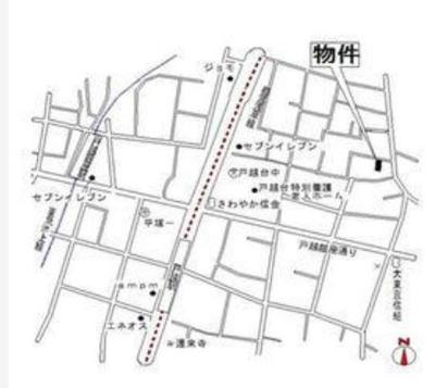 【地図】ステラU