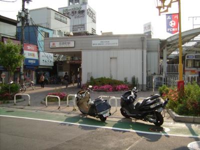 ※荏原町駅周辺の写真となります。