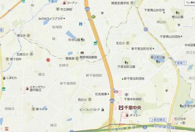 【地図】ヴィラヴェルディ3番館