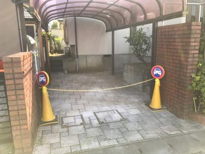 【駐車場】守谷市みずき野 三井ホーム 中古一戸建