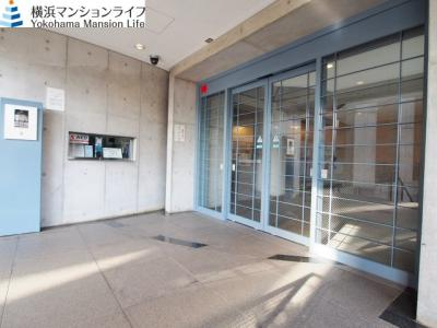 【エントランス】東急ドエル・横浜ヒルサイドガーデン4番館