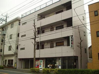 【外観】バイオレットハウス1階店舗・貸事務所